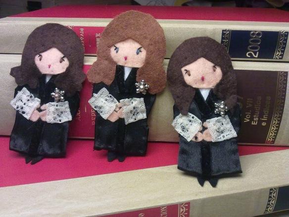 muñecas juezas